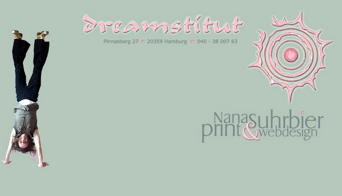 Dreamstitut - Print und WEB - Design